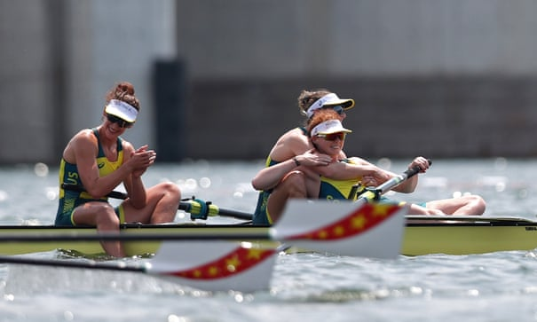 'Amazing hour' of Olympic rowing produces Australian medal bonanza