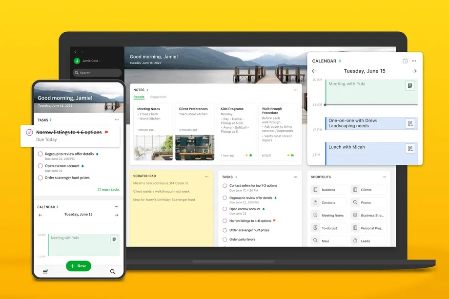 Evernote works to keep current users and tries for new ones